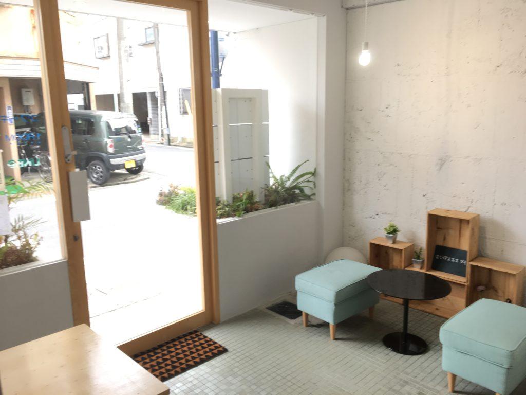 シェアオフィスタキコ1Fの共用スペース